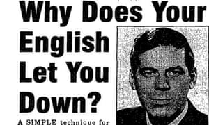 Newspaper ad for the Practical English Programme