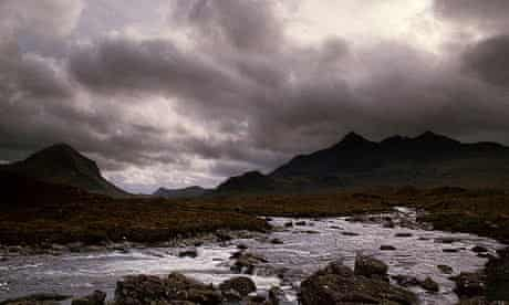 The Black Cullin skye
