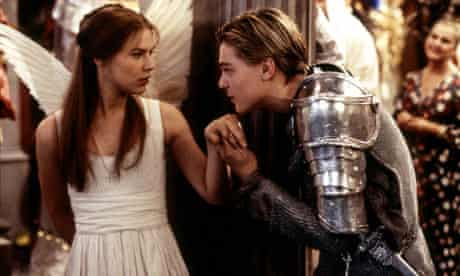 Leonardo Dicaprio And Claire Danes In 'Romeo And Juliet' - 1996