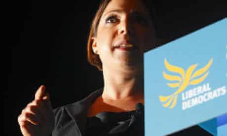 Liberal Democrats Autumn Conference Sarah Teather