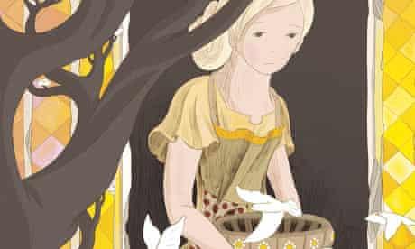 Cinderella doing household chores