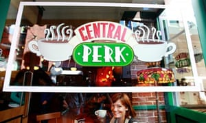 Esther Addley at Central Perk in London, Sept 2009