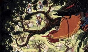 Hans My Hedgehog sit in a tree
