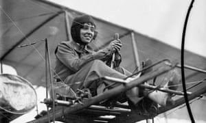 Aviator Helene Dutrieu