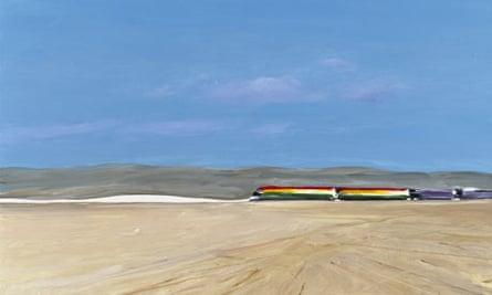 Train in the Desert, 1981