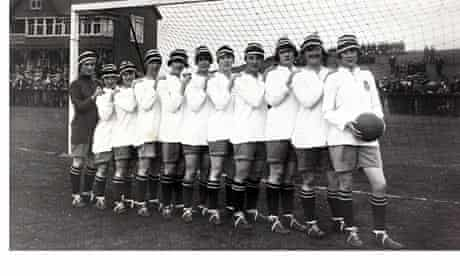 Sport, Football, Dick Kerr International Ladies A,F,C,, undefeated British champions in 1920-1921