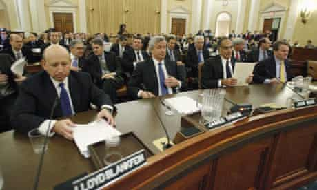 at the Financial Crisis Inquiry Commission hearing on Capitol Hill in Washington