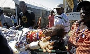 Haiti quake survivor aid agency
