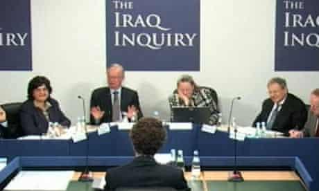 Chilcot Iraq inquiry, 18 January 2010