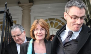 Kay Gilderdale leaves court