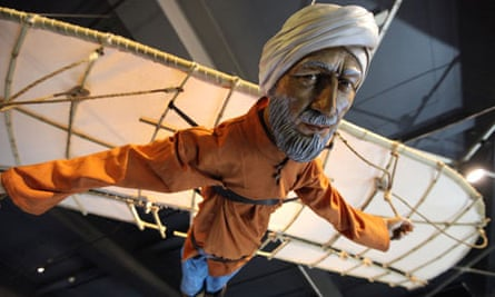 Ibn Firnas' flying contraption