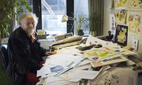 Kurt Westergaard, Danish cartoonist
