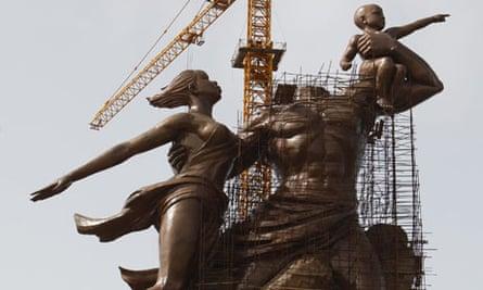 The Monument of the African Renaissance in Dakar, Senegal