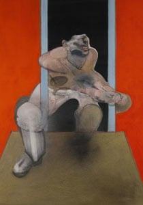 Francis Bacon's Figure In Movement.