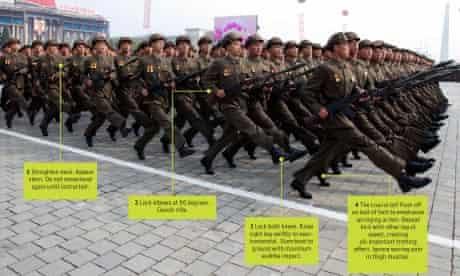 Korean march