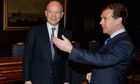 William Hague in Moscow