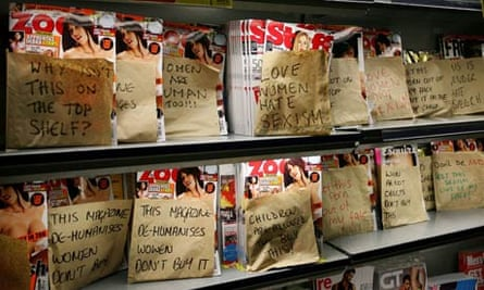 Lads' mags covered in paper bags