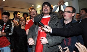 Liverpool FC takeover celebrations