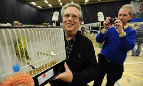 Les Martin and his Best in Show bird