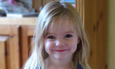 Missing British toddler Madeleine McCann
