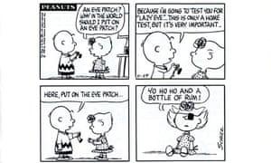 A Peanuts strip