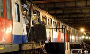 BOMBED TRAIN