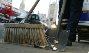 The three councils say they will look at merging street cleaning services.