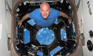 Commander Alan Poindexter in the cupola, 2010