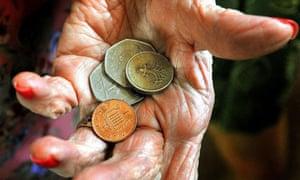 Old people spending habits