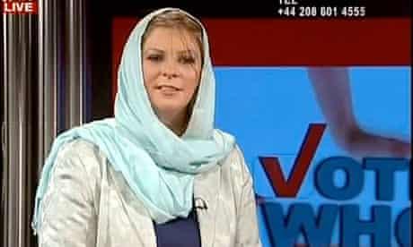 Lauren Booth speaks on Press TV