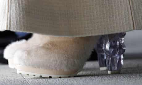 sheikha mozar's shoes