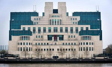 MI6 headquarters in London