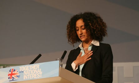 Schoolteacher Katharine Birbalsingh at the Conservative party conference
