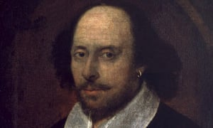 Claim to fame ... the Chandos portrait of William Shakespeare, whom Schlegel adopted for Germany.