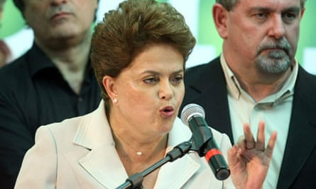 Rousseff wins Brazil's presidential election race