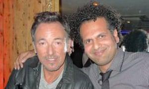 Sarfraz Manzoor meets Bruce Springsteen