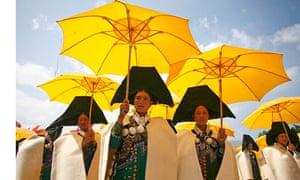 Umbrellas iin china
