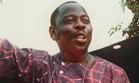 Nigerian writer and activist Ken Saro-Wiwa