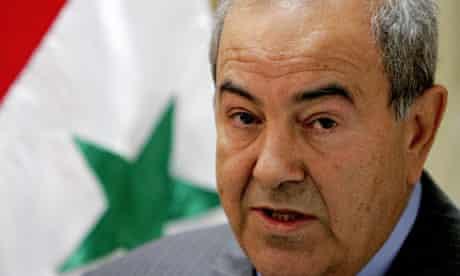 Former Iraq PM, Ayad Allawi