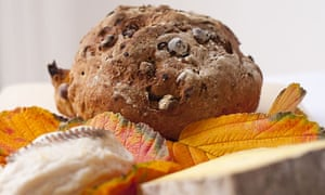 Fig and walnut  loaf for cheese.