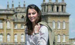 Kate Middleton at Blenheim Palace, 2004