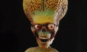 An alien from Mars Attacks!