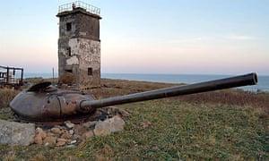 Kuril Kunashir island, Medvedev