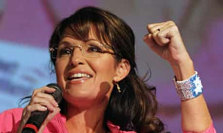 Sarah Palin Joins Senate Candidate Joe Miller At Campaign Rally In Anchorage