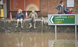 Flooding in Cornwall