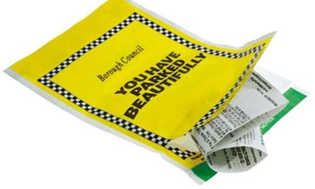 A positive parking ticket
