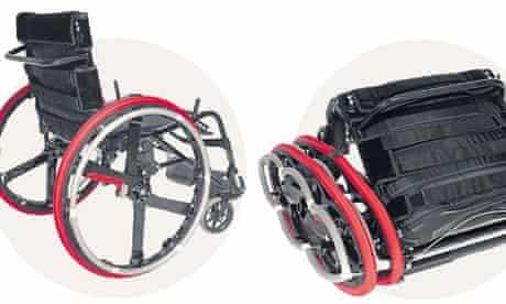 Duncan Fitzsimons's wheelchair design