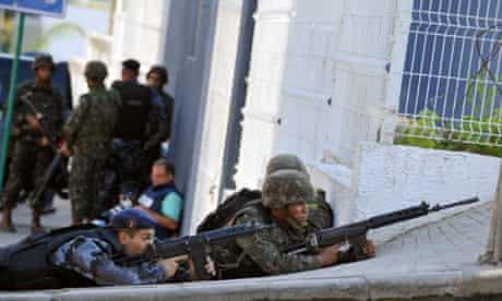 Armed police storm Rio favela
