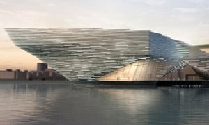 V&A museum in Dundee