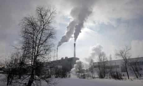 pulp and paper mill built at the southern tip of Baikal Lake in the Siberian town of  Baikalsk
